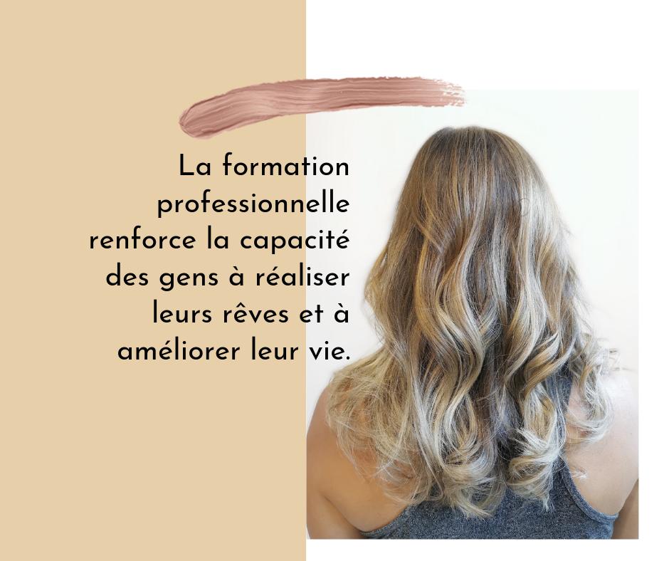 Formation pour les coiffures de mariage en permanente